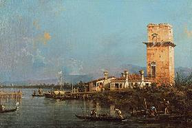 La Torre di Malghera (oil on canvas) 16th