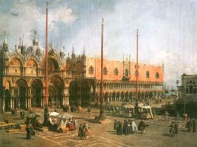 Piazza S. Marco looking South-East 1735-40