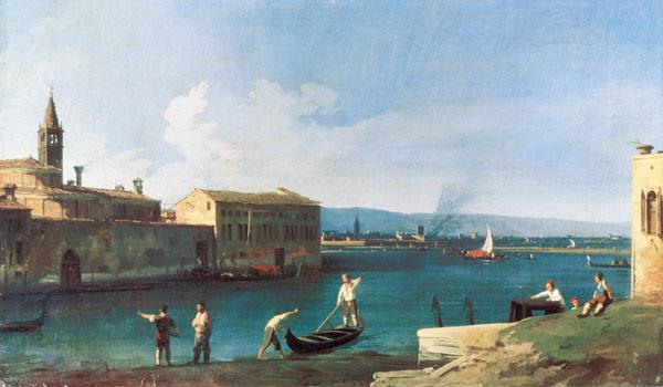 View of San Michele in Isola, Venice 18. Jh