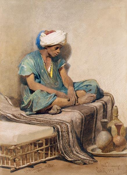 A Himali or water seller 1855  on