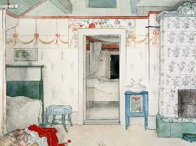 Brita's Forty Winks, from 'A Home' series c.1895  on