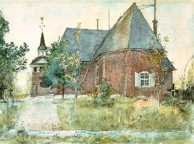 Old Sundborn Church, from 'A Home' series c.1895