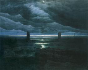 Sea Shore in Moonlight 1835-36