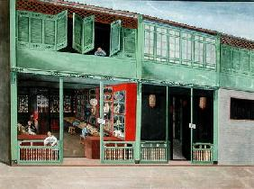 Polly the Tailor's shop c.1830