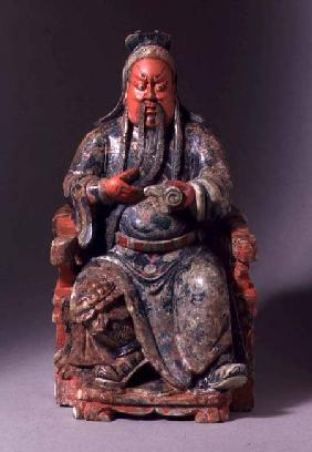 Seated Figure of the God of War 18th centu