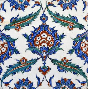 An Iznik Pottery Tile, C