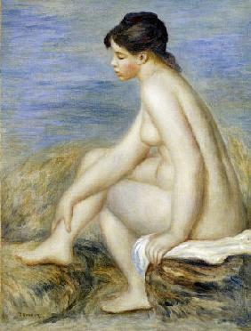 A Seated Bather