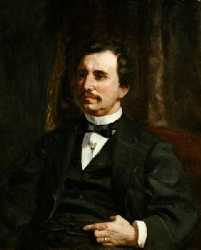 Portrait Du Colonel Barton Howard Jenks