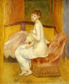 Seated Nude, Resting