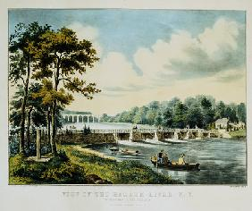 View On The Harlem River, N