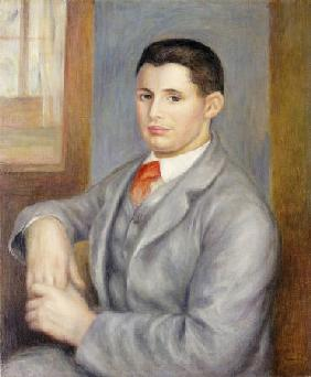 Young Man with a Red Tie