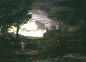 Landscape with Jacob Wrestling with the Angel, or Night 1672