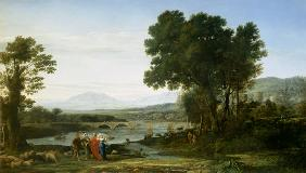Landscape with Jacob and Laban and Laban's Daughters 1654