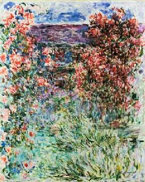 The House at Giverny under the Roses 1925