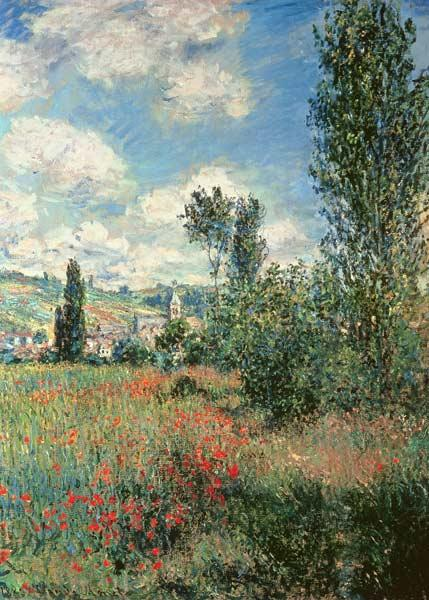 Path through the Poppies 1880