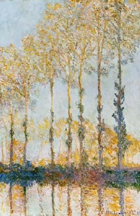 Poplars on the Banks of the Epte 1891