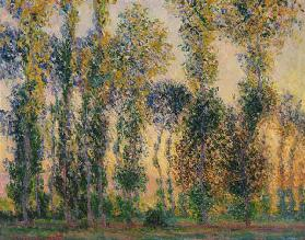 Pappeln bei Giverny, Sonnenaufgang 1888