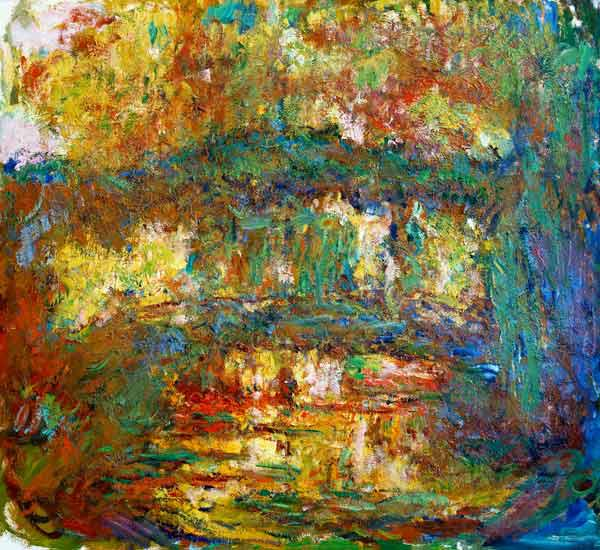 The Japanese Bridge at Giverny 1918-24