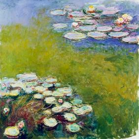 Waterlilies, Harmony in Blue 1914-17