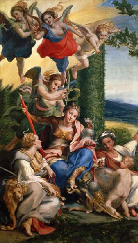 Allegory of the Virtues c.1529-30