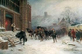 The Funeral of King Charles I - St. George's Chapel, Windsor in 1649 1907