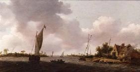 Boats in an Estuary