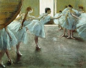 Dancers at Rehearsal, 1875-1877