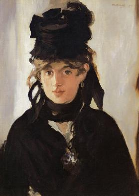 Berthe Morisot with a Bouquet of Violets 1872