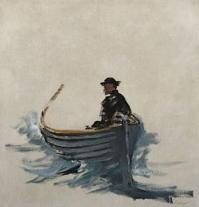 Study for 'The Escape of Henri de Rochefort' 1881