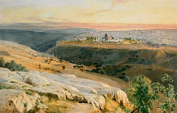 Jerusalem from the Mount of Olives 1859