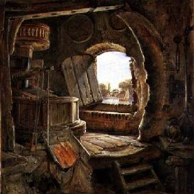 Rembrandt's Father's Mill 1838