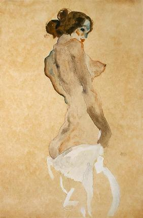 Standing Female Nude 1912  on