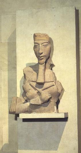 Osiride pillar of Amenophis IV (Akhenaten) from Karnak, New Kingdom c.1350 BC