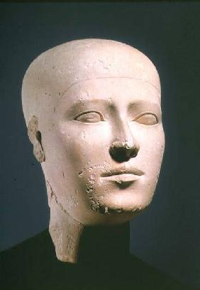 Portrait head from the graves of the Giza necropolis c.2600 BC