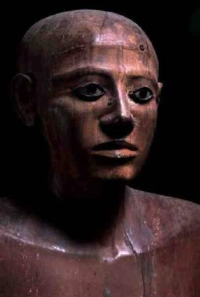 Statue of Chancellor Nakhti, from Asyut, early Middle Kingdom c.1900 BC