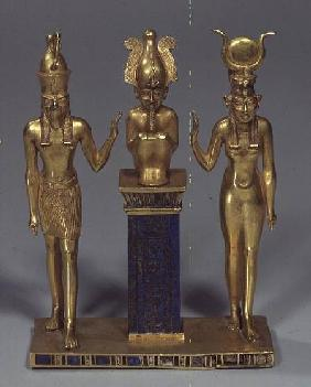 The Triad of Osorkon II, reign of Osorkon II c.874-850