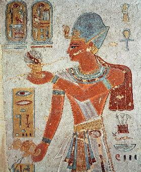 Ramesses II: Dressed for War (Wall Painting)