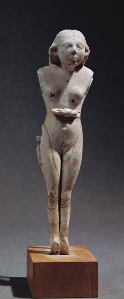 Statuette of a nude female, Thinite Period c.3100-270