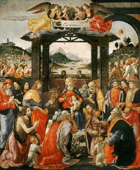 The Adoration of the Kings 1488