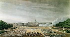 Ceremony of the Te Deum the Allied Armies in Louis XV Square, Paris, on 10th April 1814