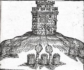 Illustration of siege warfare, from ''The Art of Gunnery'' by Thomas Smith (fl.1600-27)