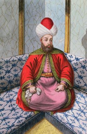 Orkhan (1288-1359), Sultan 1326-59, from 'A Series of Portraits of the Emperors of Turkey' 1808