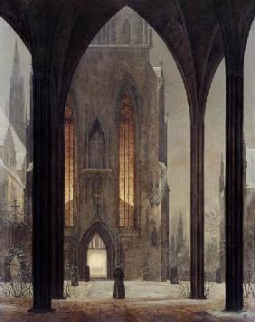 Dom im Winter 1821