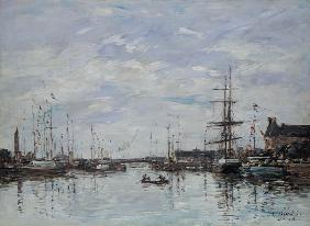 Deauville, the Dock 1892