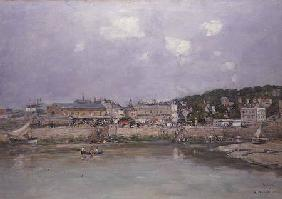 The Harbour at Trouville 1884