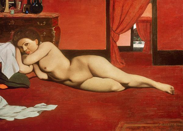 Female Nude in a Red Interior 1897