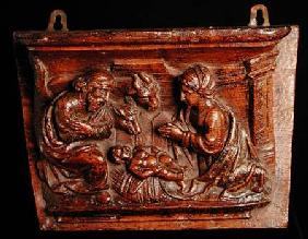 Nativity Misericord c.1450 (oa