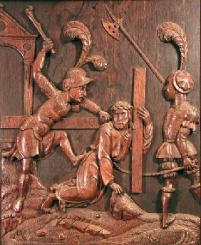 Our Saviour Falls while Carrying the Cross, from the chapel c.1520