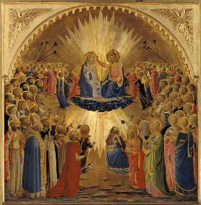 The Coronation of the Virgin c.1440