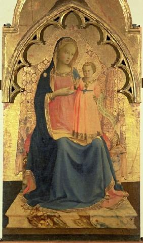 Madonna and Child, central panel of a triptych